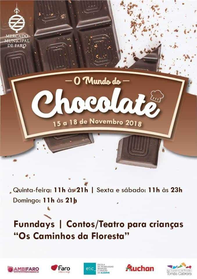 O MUNDO DO CHOCOLATE 2018 | FARO
