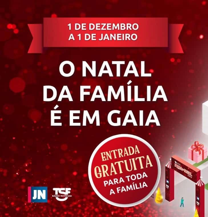 PRAÇA DE NATAL 2018 EM GAIA