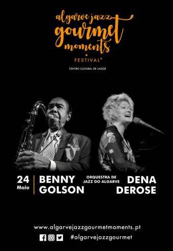ORQ.JAZZ DO ALGARVE INV. BENNY GOLSON & DENA DE ROSE