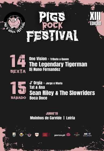 PIGS ROCK FESTIVAL 2019 – PASSE   LEIRIA