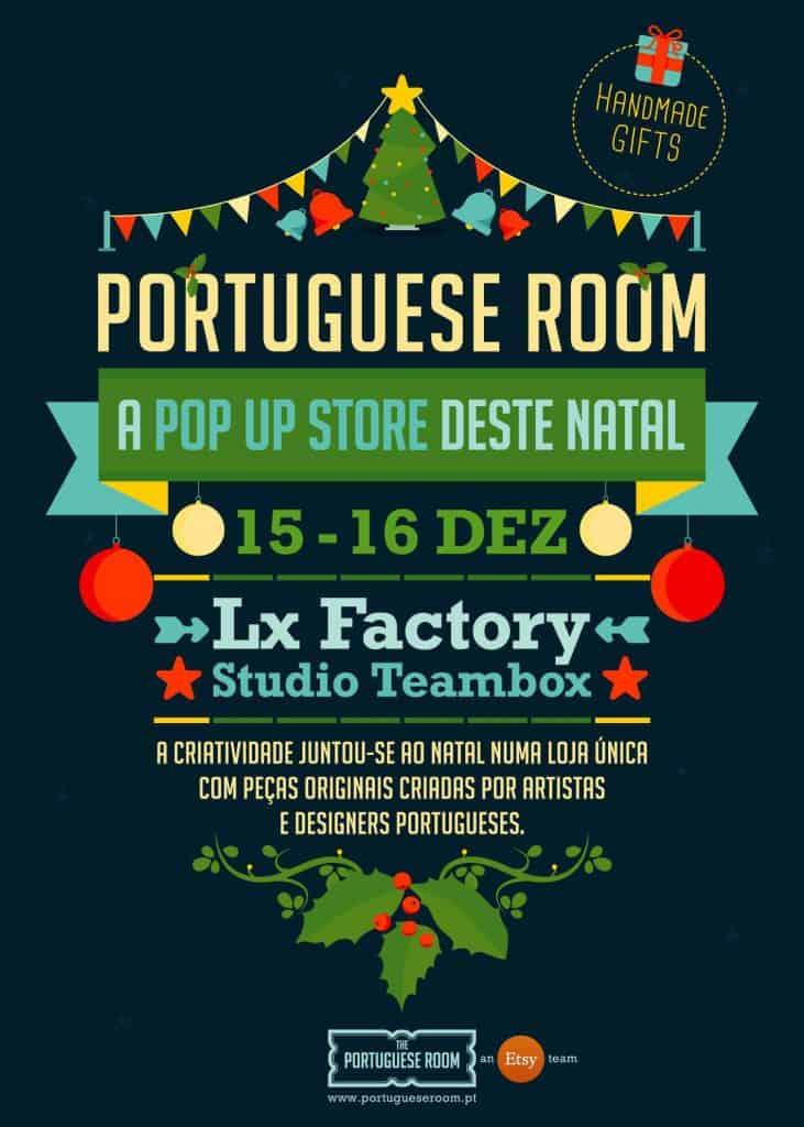 THE PORTUGUESE ROOM POP-UP STORE DESTE NATAL