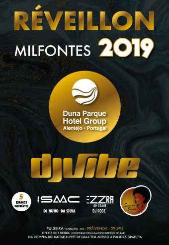 RÉVEILLON 2018-2019 DUNA PARQUE HOTEL GROUP