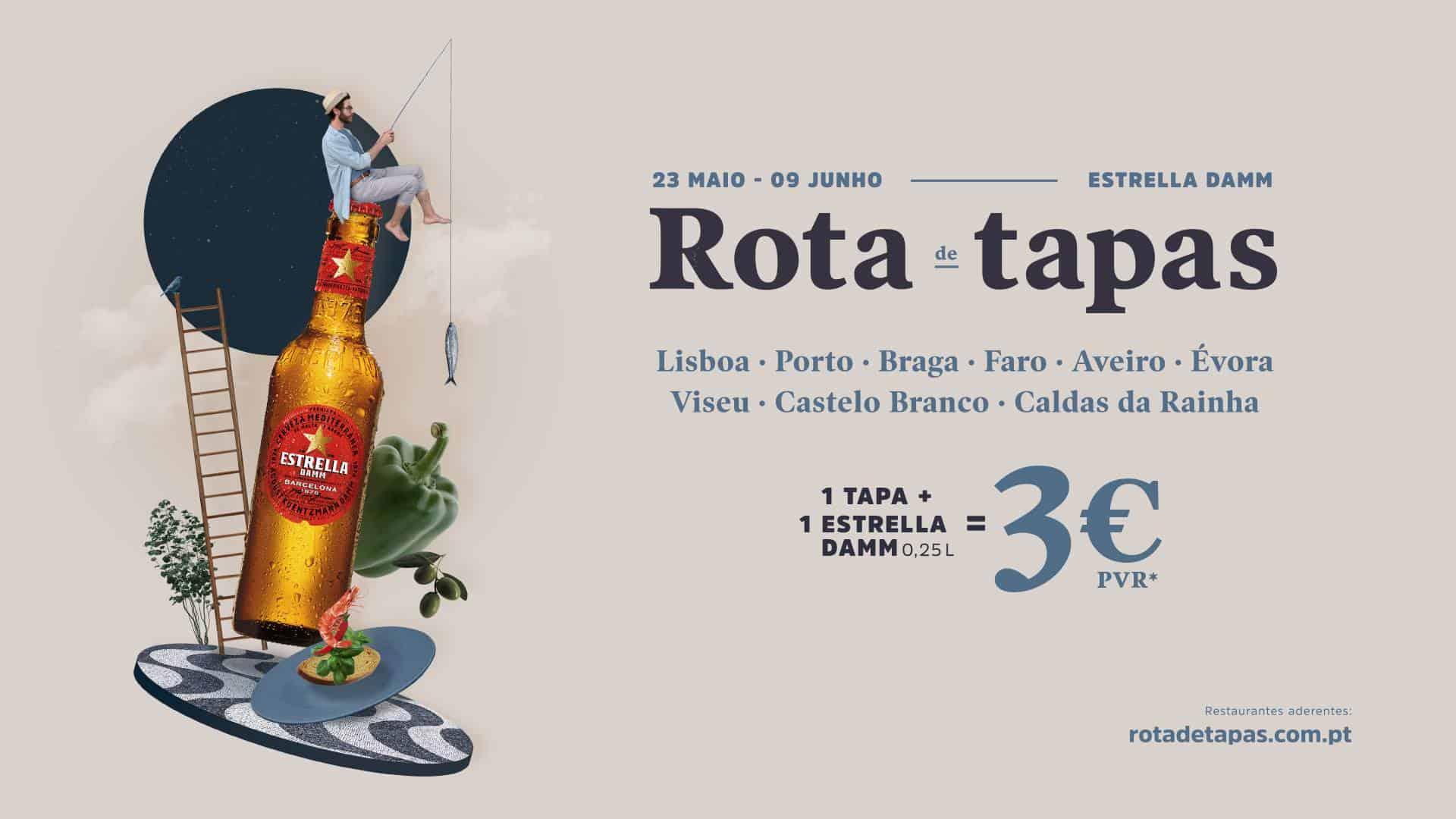 ROTA DAS TAPAS 2019 – ESTRELLA DAMM EM BUSCA DOS SABORES MAIS SURPREENDENTES