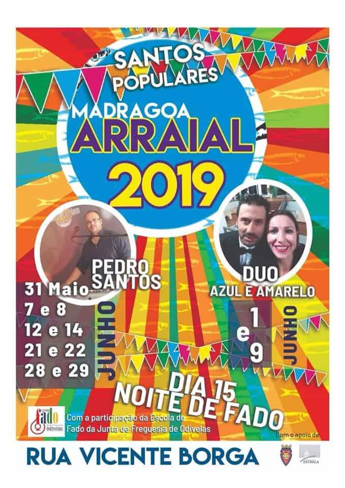 ARRAIAL MADRAGOA 2019 | SANTOS POPULARES