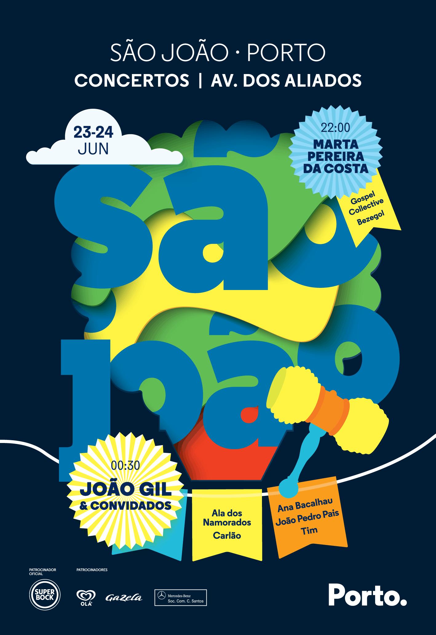 SÃO JOÃO PORTO 2019 – MARTA PEREIRA DA COSTA E JOÃO GIL NOS ALIADOS