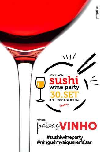 É já no dia 30 de setembro que todos os seus desejos se vão realizar. Vinhos e espumantes, sushi, petiscos e música, juntam-se num cenário fabuloso, ali mesmo junto ao rio Tejo, na Doca de Belém, para a Sushi Wine Party.