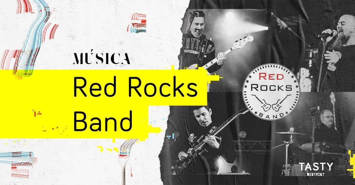 Os Red Rocks Band vão atuar no fim de semana no Tasty District Porto