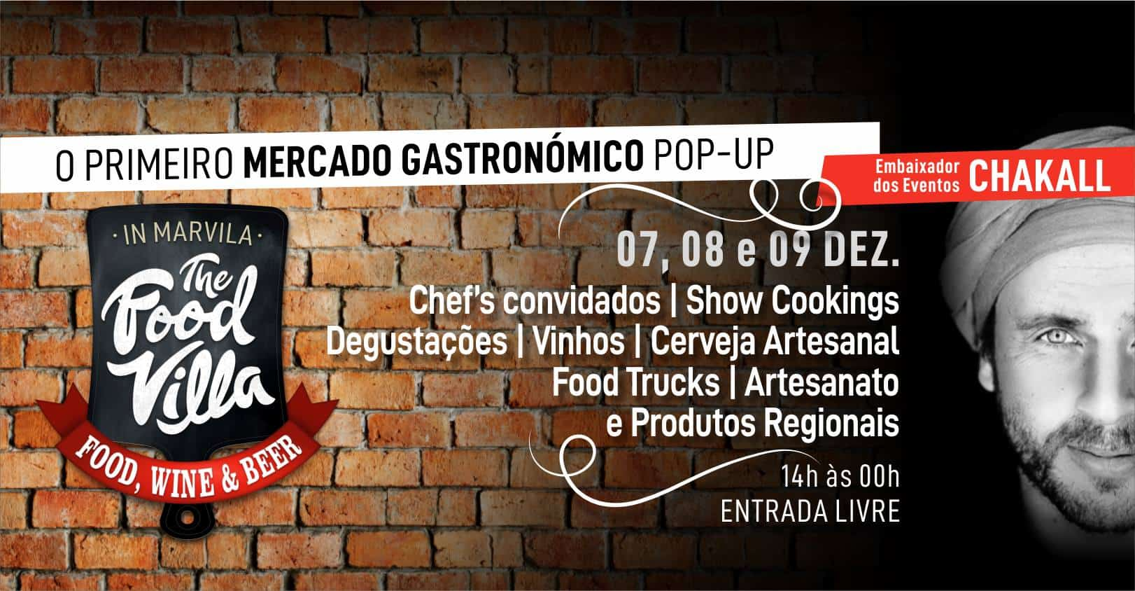 THE FOOD VILLA – 1º FESTIVAL POP-UP GASTRONÓMICO DE MARVILA