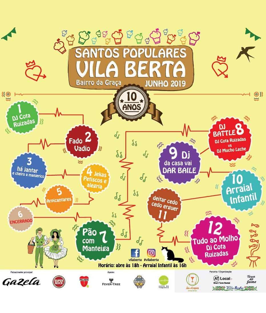 ARRAIAL DA VILA BERTA 2019   SANTOS POPULARES LISBOA