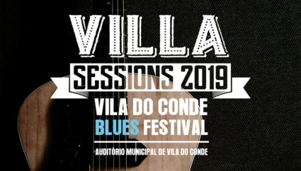 O cartaz da terceira edição do Villa Sessions 2019 – Vila do Conde Blues Festival