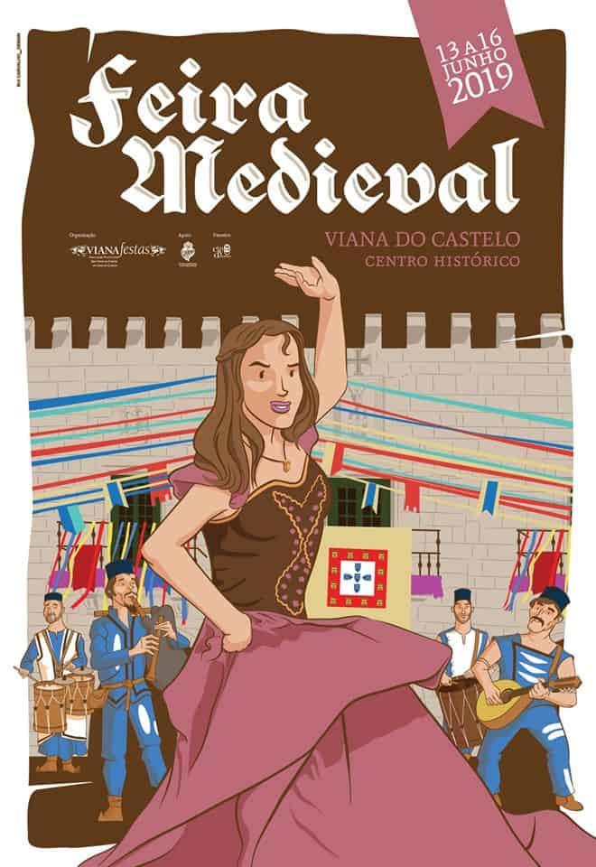 XII FEIRA MEDIEVAL DE VIANA DO CASTELO 2019
