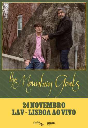 THE MOUNTAIN GOATS | LAV – LISBOA AO VIVO