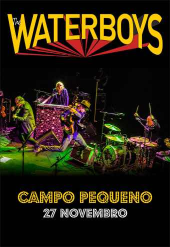 THE WATERBOYS | CAMPO PEQUENO