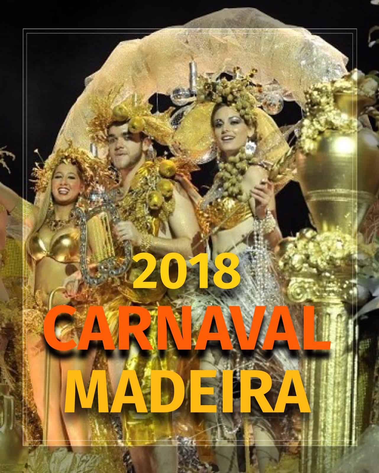 CARNAVAL DA MADEIRA 2018   PROGRAMA GERAL