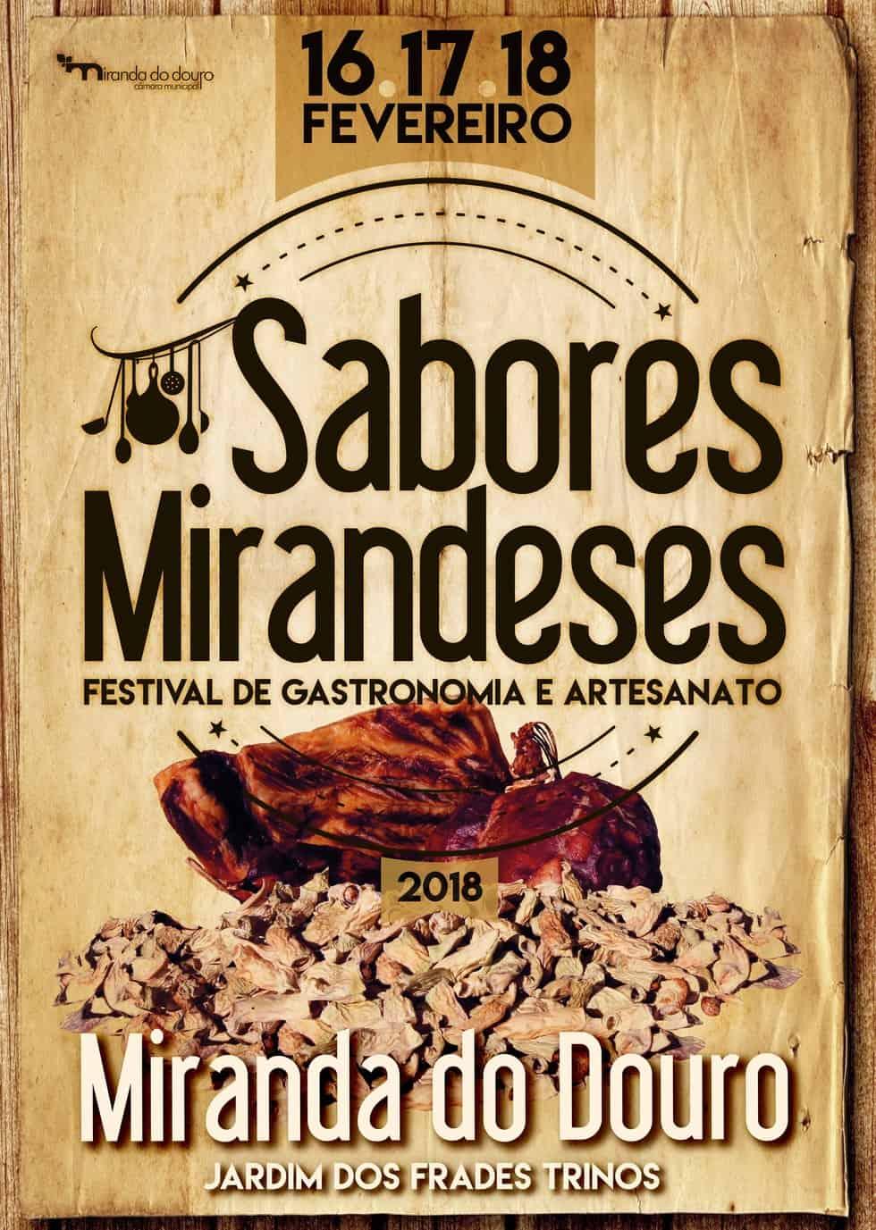 XIX FESTIVAL DE SABORES MIRANDESES | 2018