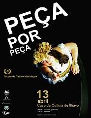 """""""Peça por Peça"""" / Grupo de Teatro Mar Alegre"""