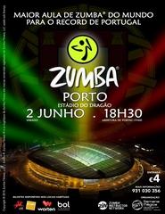 A Maior  Aula de Zumba do Mundo  para o Records  de Portugal