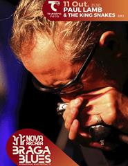 NOVA ARCADA BRAGA BLUES | PAUL LAMB & THE KING SNAKES