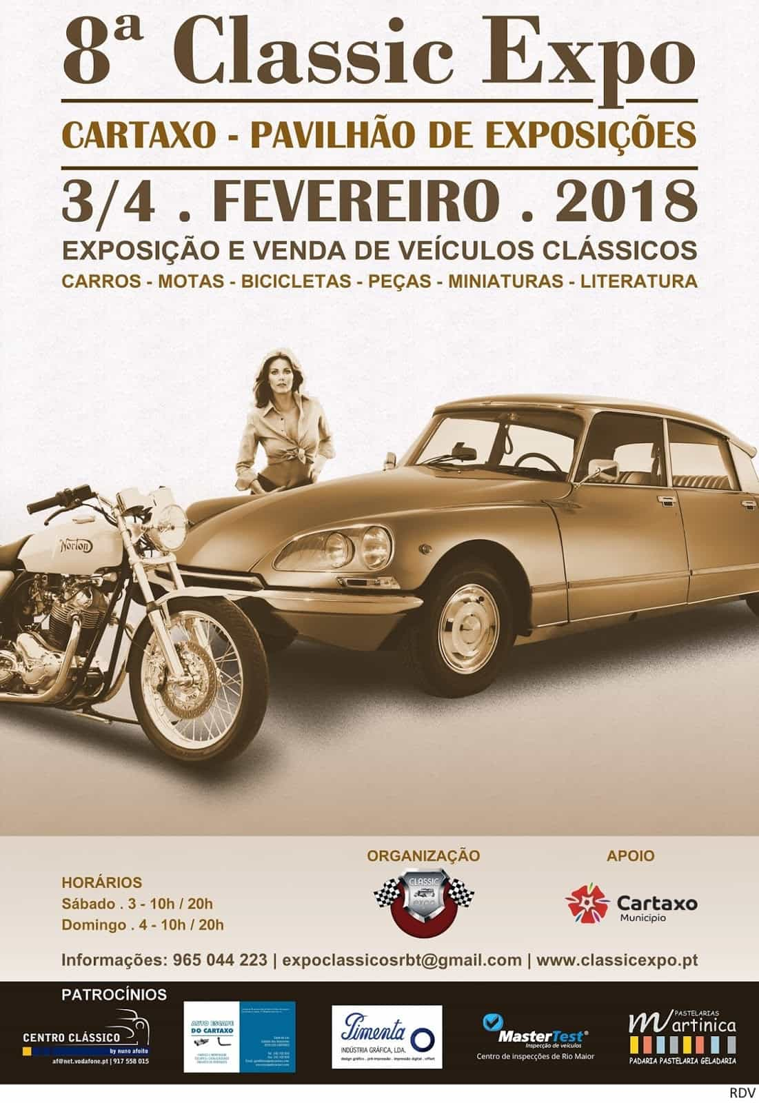 8ª CLASSIC EXPO DO CARTAXO | 2018