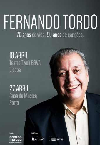 FERNANDO TORDO – 70 ANOS DE VIDA E 50 DE CANÇÕES   TEATRO TIVOLI BBVA