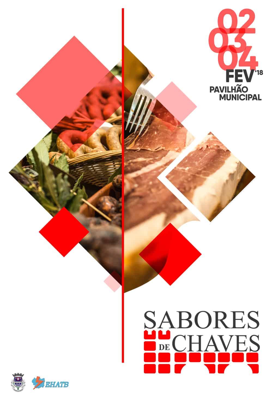 SABORES DE CHAVES 2018   2, 3 E 4 FEVEREIRO