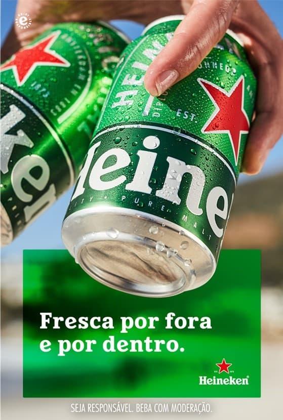 A Heineken® acaba de lançar em Portugal, uma lata de 33cl, que permite aos consumidores continuarem a desfrutar do sabor inconfundível de uma cerveja Heineken® neste novo formato.