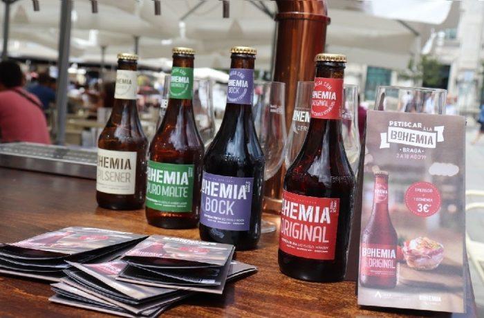 O evento Petiscar à La Bohemia chega a Braga! De 2 a 18 de Agosto, a cidade de Braga, convida a experimentar a melhor selecção de petiscos acompanhados pela inconfundível Cerveja Bohemia, que apresenta quatro variedades de cervejas para uma combinação única de paladares.