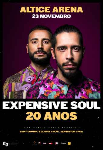 EXPENSIVE SOUL – 20 ANOS | ALTICE ARENA