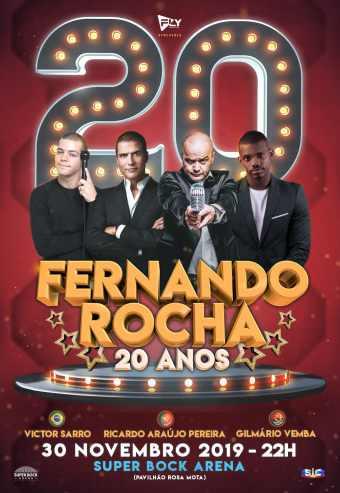 FERNANDO ROCHA 20 ANOS   SUPER BOCK ARENA