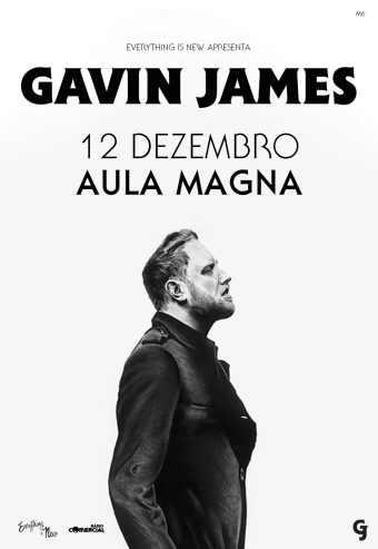 GAVIN JAMES – AULA MAGNA