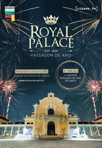 PASSAGEM DE ANO NO ROYAL PALACE 2019/2020 – LISBOA