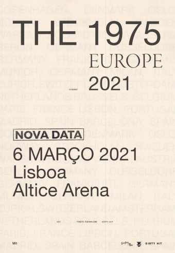 THE 1975 – 2021 EU TOUR | ALTICE ARENA