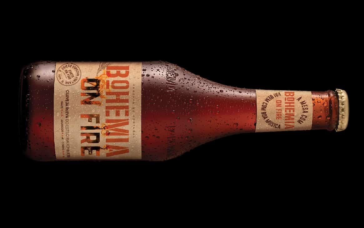 BohemiaOn Fire é uma nova cerveja que chega com as brasas do Chefs On Fire, numa uma edição especial e exclusiva produzida para acompanhar os menus dos melhores Chefs nacionais e internacionais e que irá dar mais sabor a este festival único de gastronomia em Portugal, que tem lugar marcado para dia 14 de setembro, na FIARTIL, em Cascais.