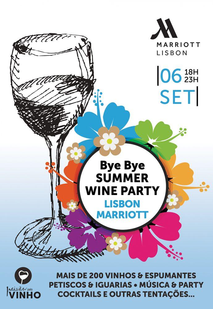 BYE BYE SUMMER WINE PARTY   LISBON MARRIOTT HOTEL