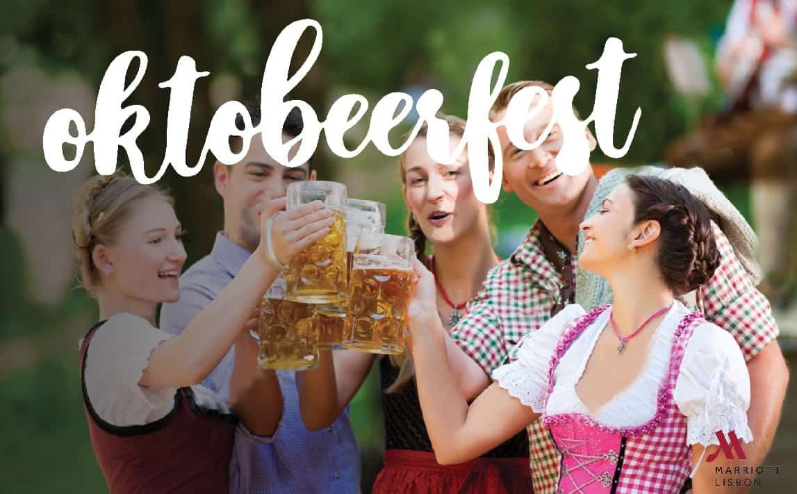 O Oktobeerfest está de regresso ao Lisbon Marriott Hotel, na sua 11ª edição! É a versão da Oktoberfest, a festa tradicional alemã que anima desde 1810 a cidade de Munique, na Alemanha, que o prestigiado hotel da capital, celebra com o intuito de fomentar o intercâmbio cultural luso-alemão e proporcionar um lugar onde os convidados possam cultivar e fazer amizades, num ambiente e atmosfera únicos.