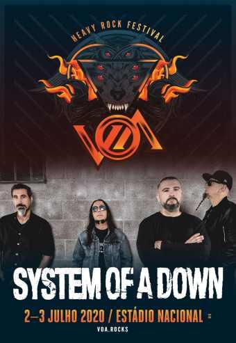 VOA 2020 | HEAVY ROCK FESTIVAL – PASSE 2 DIAS