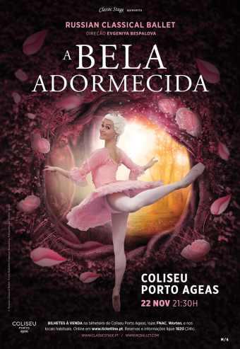 A BELA ADORMECIDA – RUSSIAN CLASSICAL BALLET | PORTO