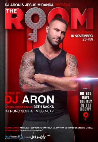 THE ROOM COM DJ ARON | BARRIO LATINO