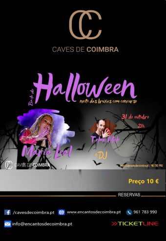 BAILE DE HALLOWEEN – CAVES DE COIMBRA