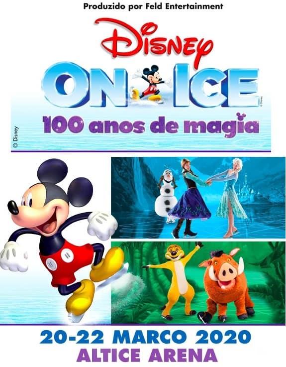 DISNEY ON ICE 100 ANOS DE MAGIA | ALTICE ARENA