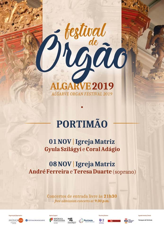 FESTIVAL DE ÓRGÃO ALGARVE 2019 – PORTIMÃO