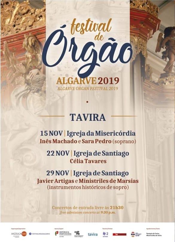 FESTIVAL DE ÓRGÃO ALGARVE 2019 – TAVIRA