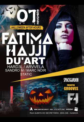 FRENETIK GROOVES HALLOWEEN AFTERPARTY