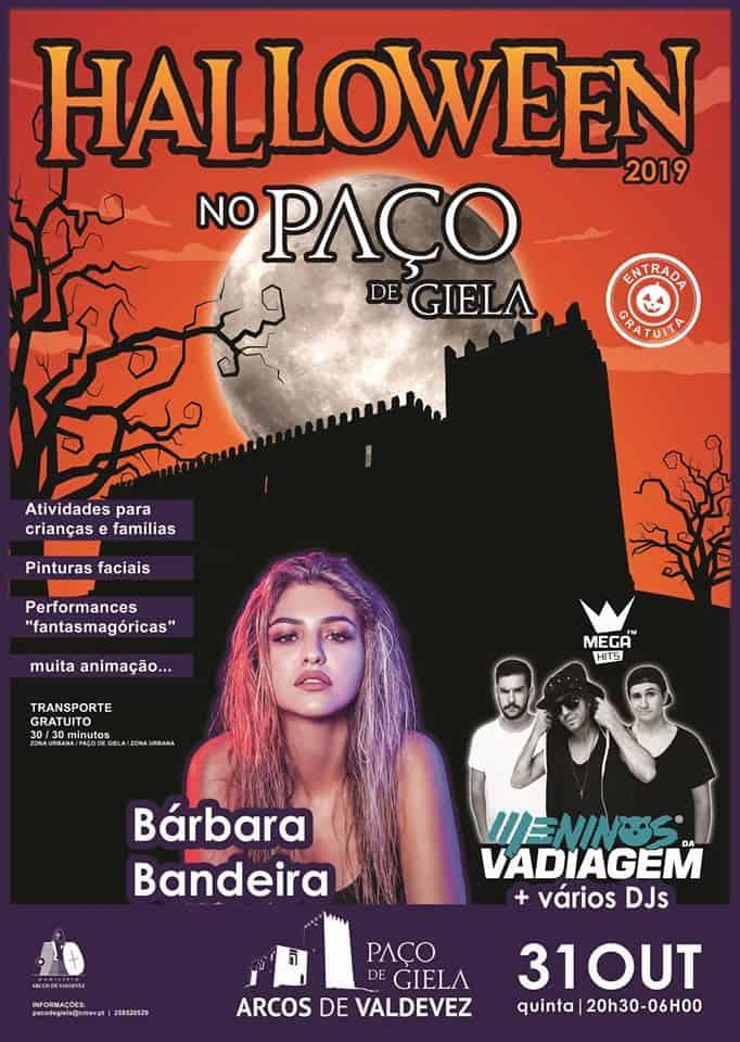HALLOWEEN NO PAÇO DE GIELA 2019