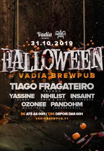 HALLOWEEN @ VADIA BREWPUB | OLIVEIRA DE AZEMÉIS