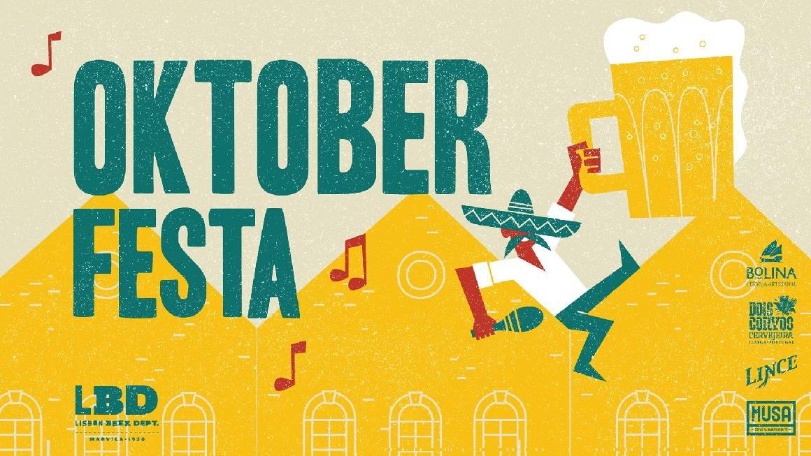 A Oktober Festa, a versão lisboeta da famosa festa e feira de cerveja alemã, vai acontecer no dia 19 de Outubro. A tarde e noite de Marvila voltam a ser ocupadas com concertos, petiscos e um recheado cardápio de cervejas, com entrada livre.