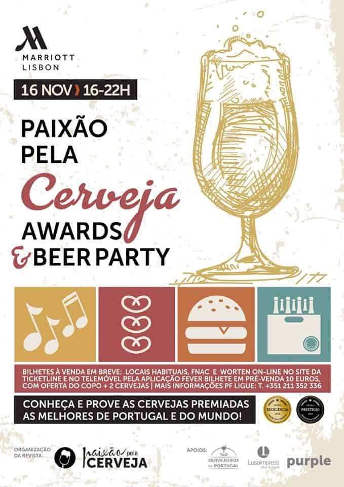 PAIXÃO PELA CERVEJA AWARDS & BEER PARTY 2019