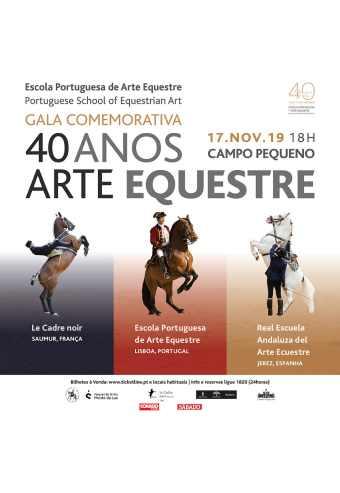ARTE EQUESTRE 40 ANOS | CAMPO PEQUENO