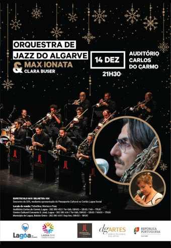 MAX IONATA / CLARA BUSER | ORQ. DE JAZZ DO ALGARVE