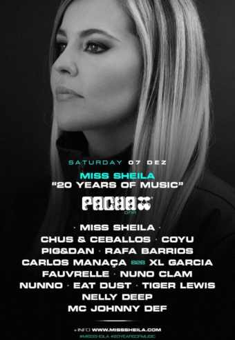 MISS SHEILA – 20 ANOS OF MUSIC AT PACHA